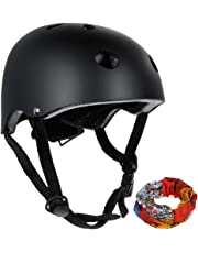 zacro CE Certificated Classic Commuter Bike/Skate/Multi Sport Helmet with 11 Vents in Common Size (55-58cm), Black