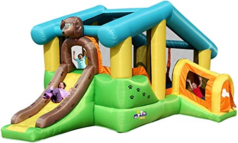 WJSW Castillos hinchables Castillo de Juegos inflables para niños ...