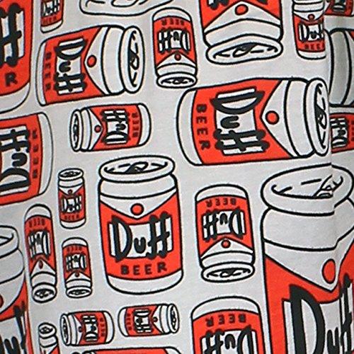 Simpsons Homer Simpson Herren Schlafanzughose Duff Beer