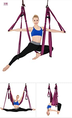 Cuifang Yoga Interior Hamaca Columpio Yoga Antigravedad ...