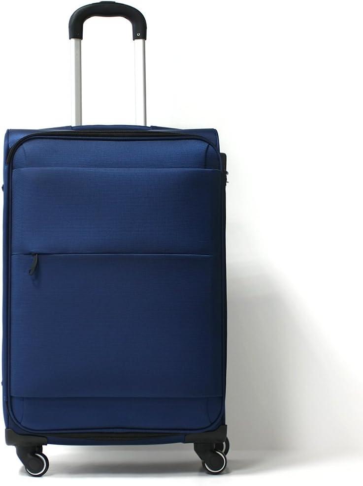 Pack. IT Estocolmo Maleta Azul 77 cm Spinner Trolley (4 ruedas ...