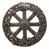 Ebros Wiccan Wheel of The Year Wall Plaque Eight Pagan Festivals Sabbats By Maxine Miller