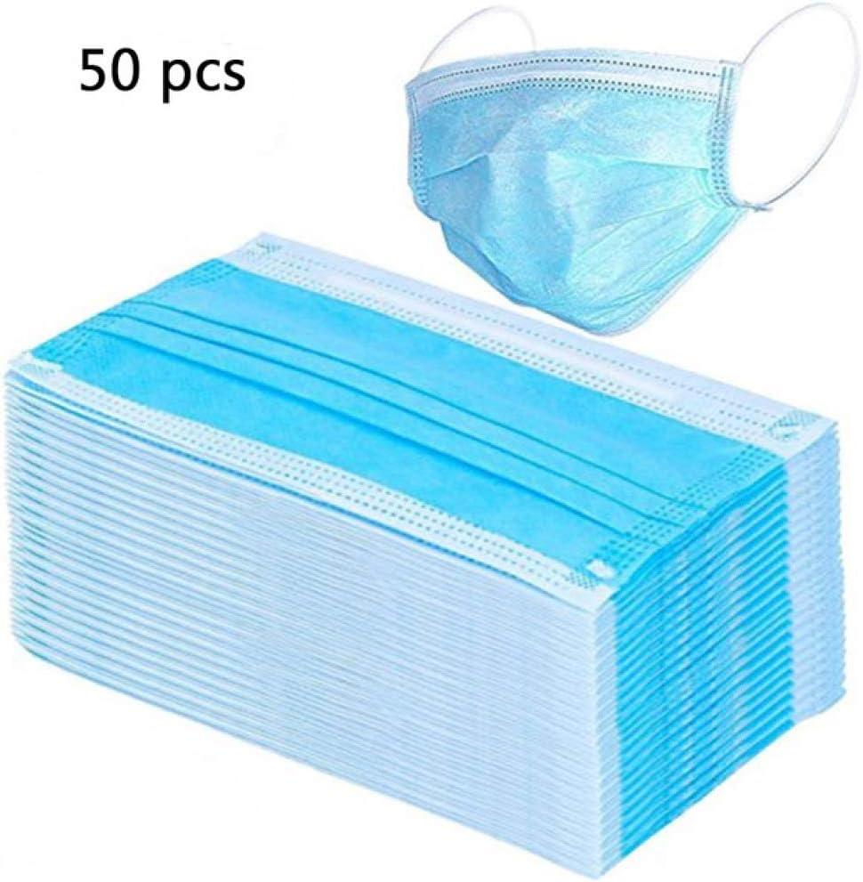 WYSTLDR 50 / 100pcs Filtro de máscaras faciales China desechable 3 Capas Unisex protección Anti mascarilla Boca Nariz no Tejido DS1 | máscaras |