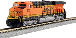 N GE ES44AC BNSF Swoosh #5873 w/Ready to Run DCC