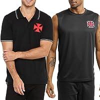 Kit Vasco da Gama Camisa Polo + Camiseta Regata Machão