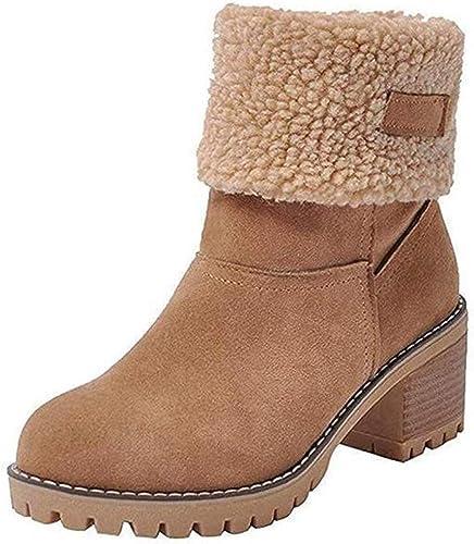 Damen Schneeschuhe 35 44 EU Large Size Winter Neue Stiefel Plus Samt Wärme Damen Schneeschuhe