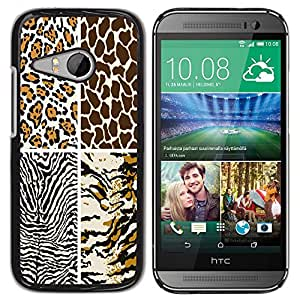 Jordan Colourful Shop - FOR HTC ONE MINI 2 / M8 MINI - Ideal are like the stars - Personalizado negro cubierta de la caja de pl??stico