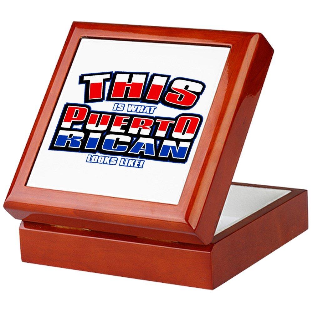 Keepsake Box Mahogany What Puerto Rican Looks Like Flag
