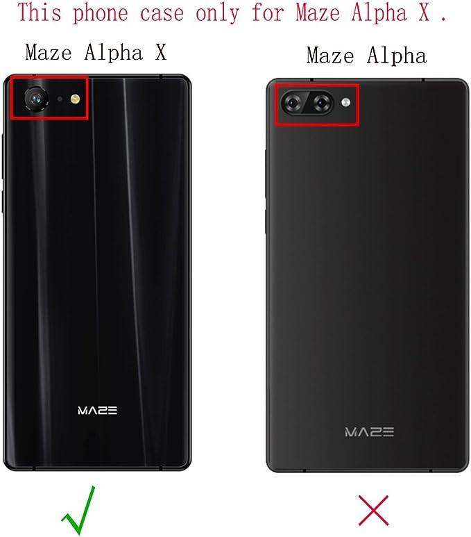 Teléfono Móvil para Laberinto Alpha X 6.0 Pulgadas, Ultra Cubierta ...