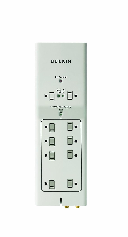 Belkin F7C01110q 10salidas AC 125V 1.22m Blanco limitador de tensión: Amazon.es: Electrónica