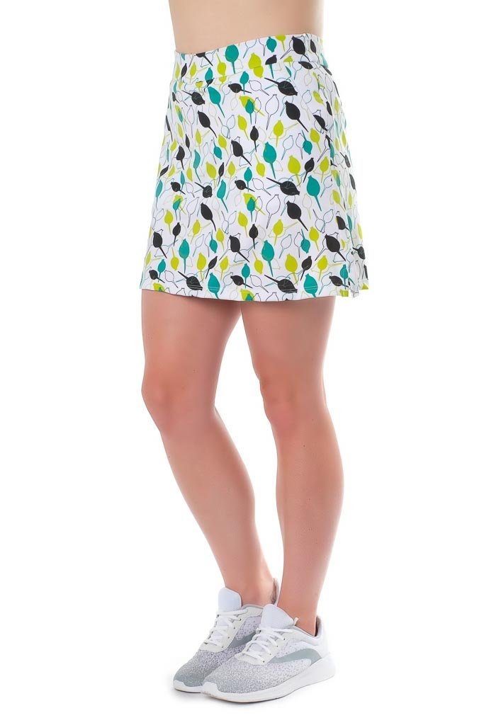 Haute Shot Micro-Poly Skort for Travel, Everyday, Golf, ect, Slimming fit, Breathable Comfort. by Haute Shot Golf (Image #5)