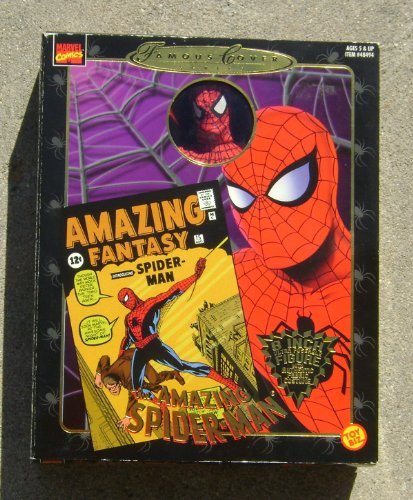 (Famous Covers Amazing Spiderman MISB 1997 Toy Biz)