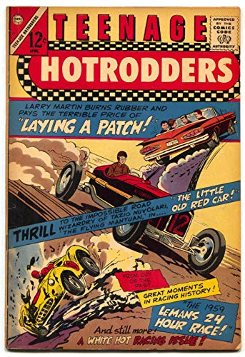 Teenage Hotrodders #17 1966-Charlton-1959 Chevy Impala convertible-LeMans