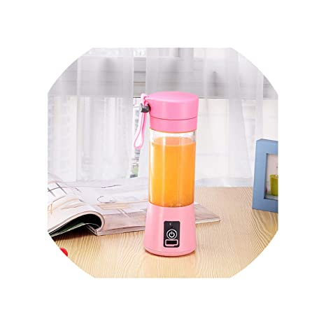 Amazon.com: USB Charging 4 Blades Portable Juicer Juice ...