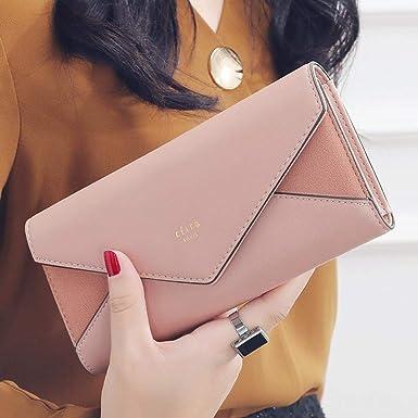 Amazon.com: Carteras y bolsos largos para mujer, diseño de ...