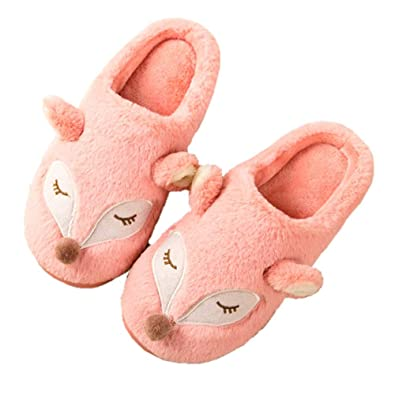3c4443fedbc1f Slippers Men Women Cute Animal Comfy Memory Foam House Shoes w/Indoor &  Outdoor Anti-Skid Sole Arch Support
