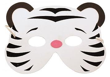 Party Pro 871188 - Máscara de Tigre para niño, diseño de Eva