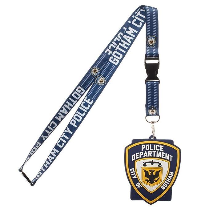 Amazon.com: Batman Gotham Policía departamento Lanyard ...