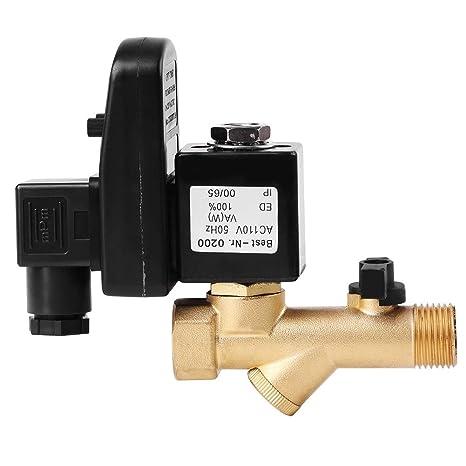 2 per la gestione della condensa del compressore daria 2# valvola di scarico temporizzata elettronica automatica DN1 G1 Valvola di scarico condensa