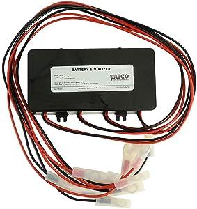 Battery Equalizer 48V - Battery Voltage Balancer, Max 4 × 12V Battery Bank Extend Battery Life 1 Year and More Support Gel Flood AGM Lead Acid Lithium Battery HA02 Balancer(Battery Equalizer 48V)