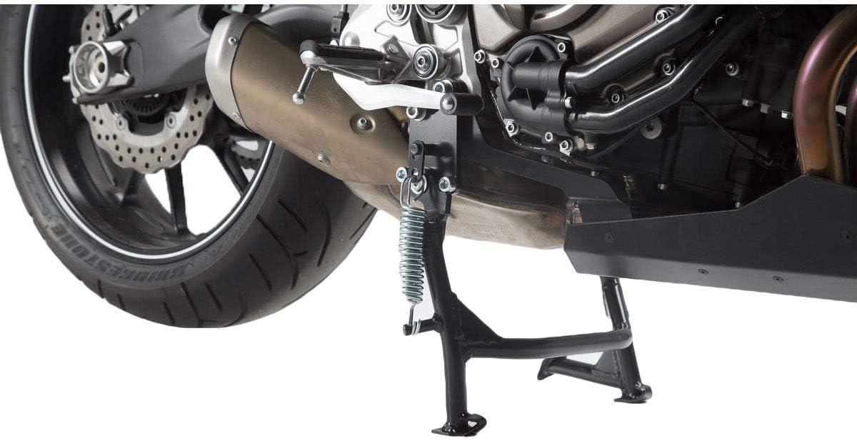 Sw Motech Hauptständer Schwarz Für Yamaha Mt 07 13 Tracer Motocage 15 Auto