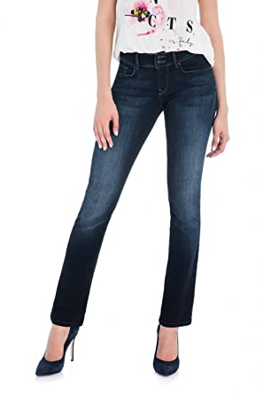 Salsa Pantalones Bliss en Denim Oscuro: Amazon.es: Ropa y ...
