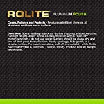 Rolite Aluminum Polish for All Aluminum & Bare Metal Surfaces - Canoes, Jon Boats, Pontoons, RVs, Diamond Plate, Aluminum Non-Coated Wheels