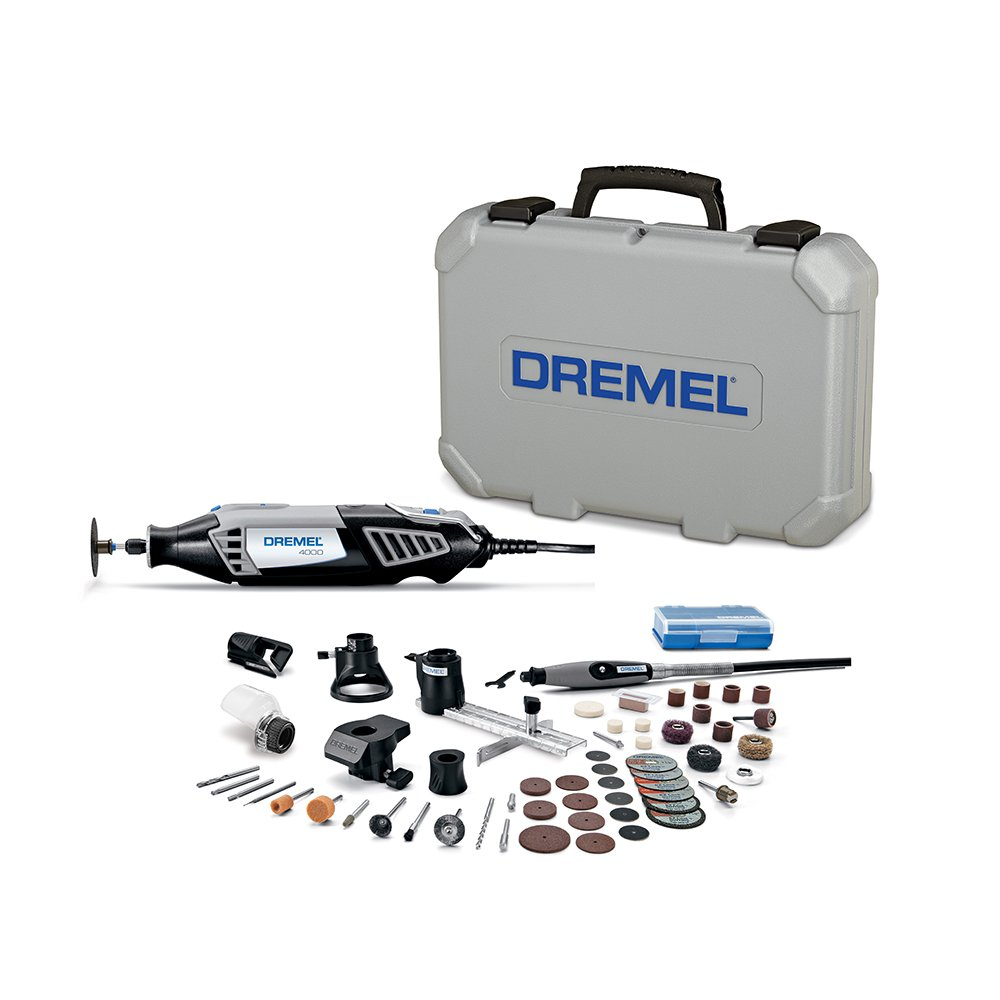 Dremel 4000-6/50 120-Volt Variable-Speed Rotary Tool with 50 Accessories by Dremel