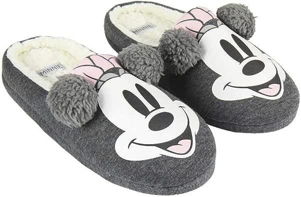 ARTESANIA CERDA Zapatillas de Casa Abierta Premium Minnie, Mujer: Amazon.es: Zapatos y complementos