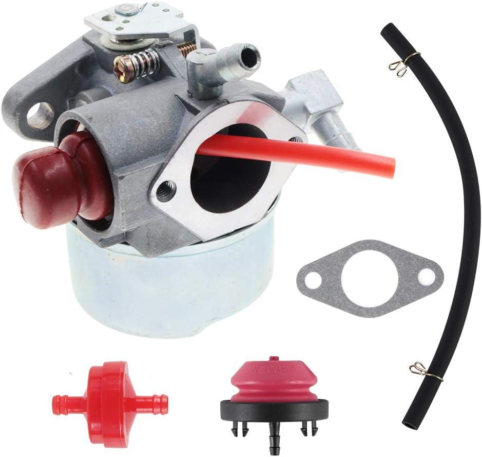 AUTOKAY 640350 Carburetor for Tecumseh 640350 640303 640271 Sears Craftmans Mowers Parts Fits LV195EA LV195XA LEV100 LEV105 LEV120 LV195EA LV195XA 20016 20017 20018 6.75 HP Toro Lawnmower Engines