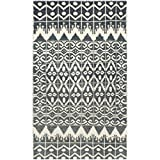Safavieh Kenya Collection KNY606A Handmade Charcoal Premium Wool Area Rug (3' x 5')