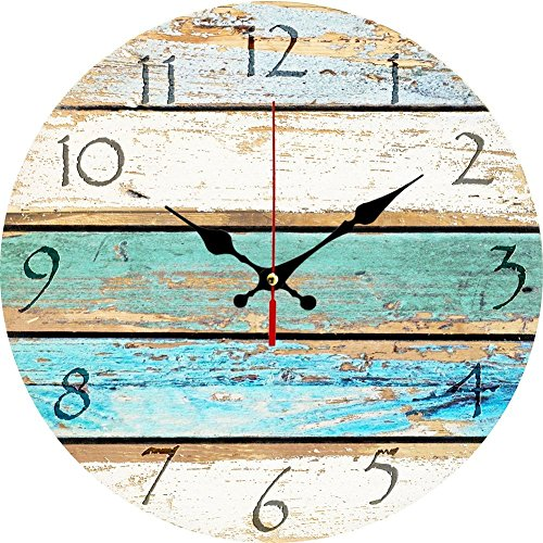 Elikeable Decorative Wall Clock,12