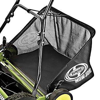 Sun Joe MJ501M Mow Joe 18-Inch Manual Reel Mower with Catcher