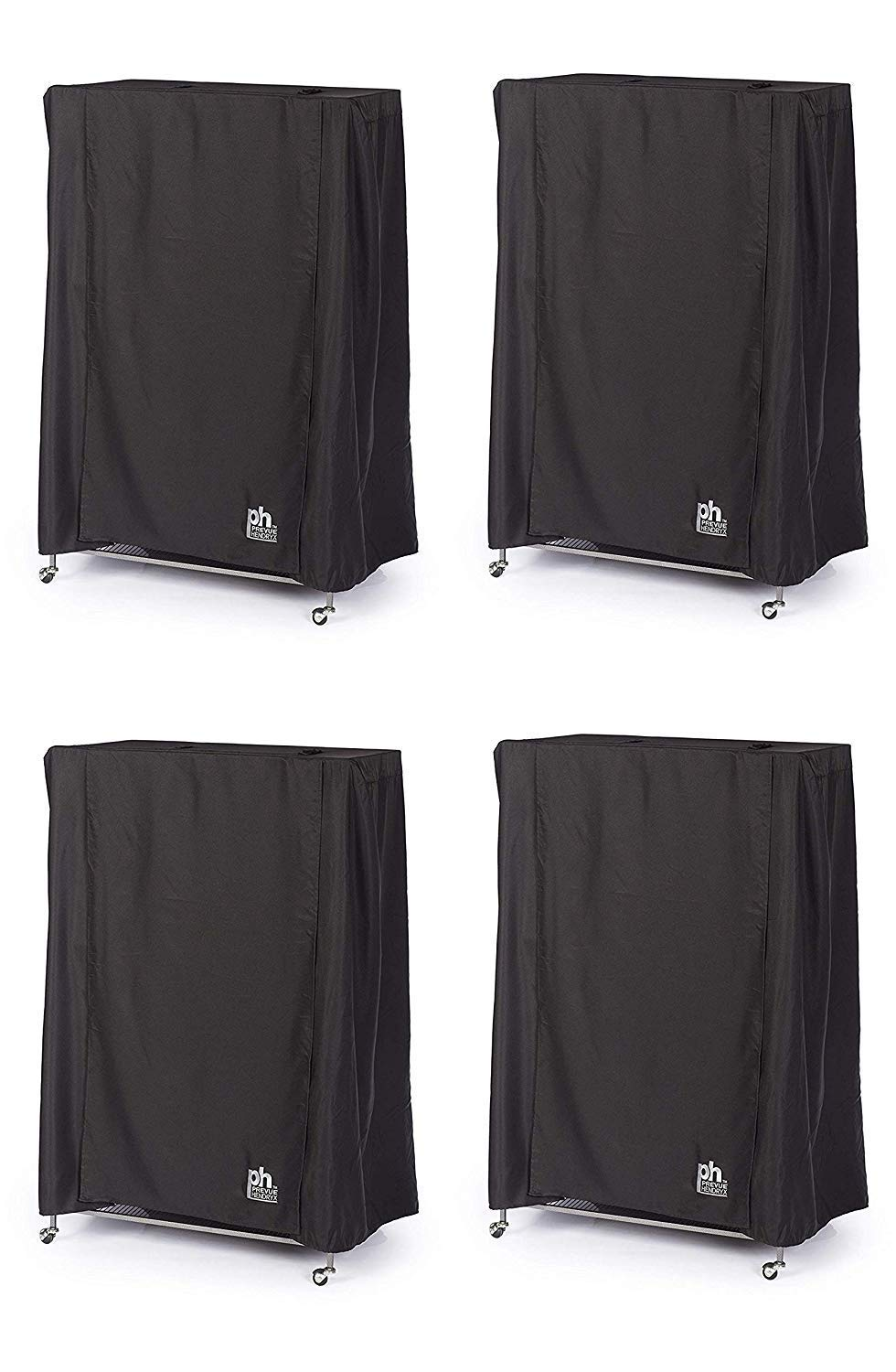 Prevue Hendryx Pet Products Good Night Bird Cage Cover, Large, Black (Pack of 4) by Prevue Hendryx