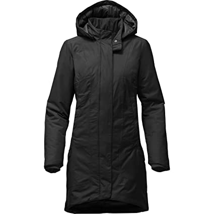 157e4f580 THE NORTH FACE Temescal Trench Coat Women TNF Black (Small): Amazon ...