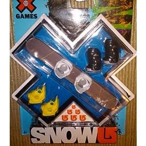 Amazon.com: X Games Fingerboard Snowboard Burton Dominant