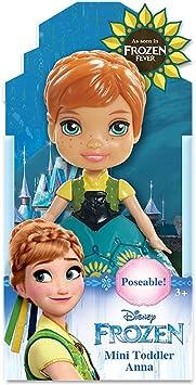 Multicolor 7,5 cm Jakks Pacific Mu/ñeca Disney Frozen Anna 95253