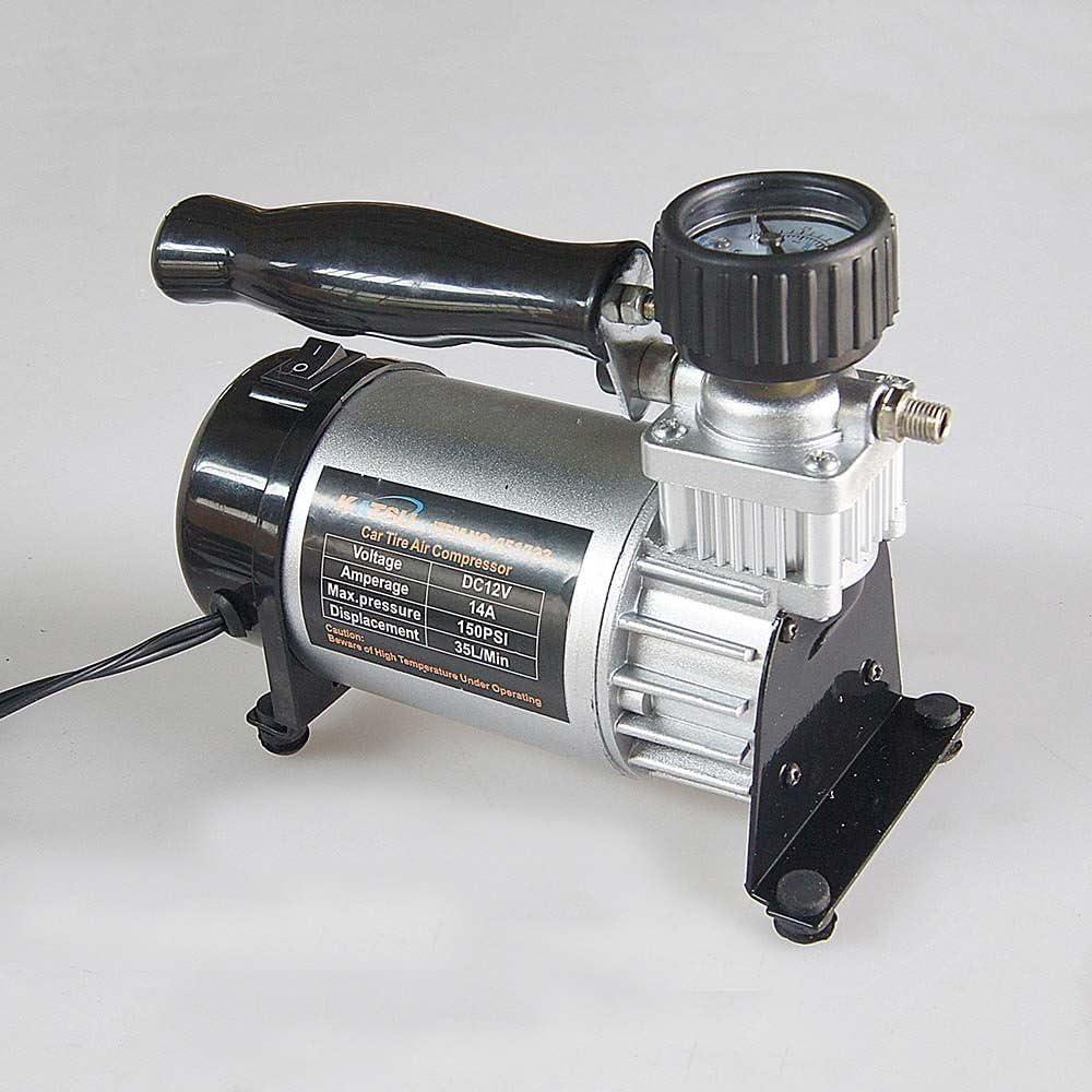 Kompressor mit Schnur Luftpumpe 12 V Auto-Reifenf/üller 150 PSI 14 A