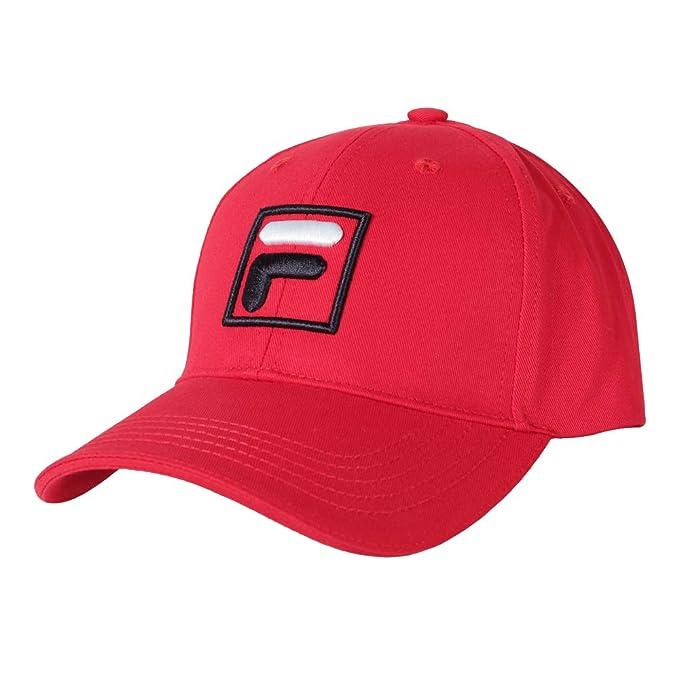 Fila Gorra de béisbol Unisex Sport Forze Rojo: Amazon.es: Ropa y ...