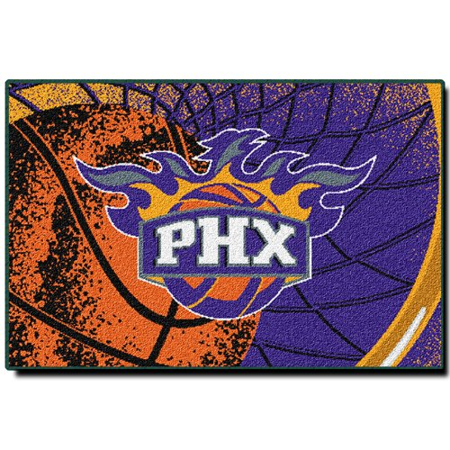 Phoenix Suns Rug - NBA Novelty Rug NBA Team: Phoenix Suns