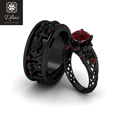 Gothic Wedding Rings.Amazon Com Dark Vampire Queen Inspired Gothic Skull Engagement Ring