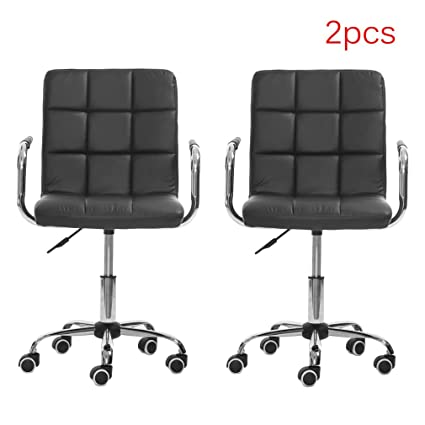 Bon Belovedkai Modern Hydraulic Swivel Chair Home Office Desk Chair Height  Adjustable Rolling Barstools Armchair, Set