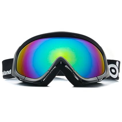 Odoland Snow Ski Goggles S2 Double Lens Anti-fog Windproof