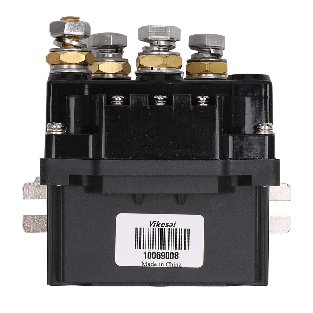 12v 500a Winch Solenoid Relay With Powder Coated Finish For Atv M1 Superwinch Wiring Diagram Utv 4x4 Truck Boat Contactor Rocker Switch Thumb Yikesai Pumps