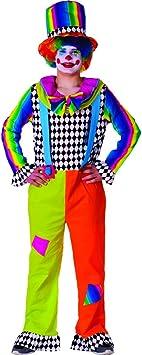Dress Up America Disfraz de Alegre Payaso para Adulto para Hombre