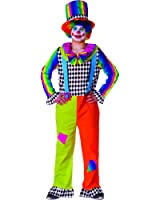 Adult Jolly Clown costume for Men By Dress Up America