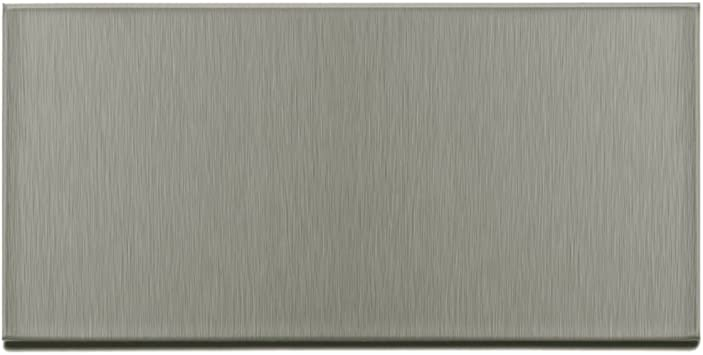 Aspect Peel and Stick Backsplash White Metal Tile for Kitchen and Bathrooms 3x6 Inch Sample