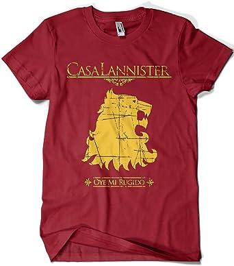 1503-Camiseta Juego De Tronos Casa Lannister: Amazon.es: Ropa y accesorios