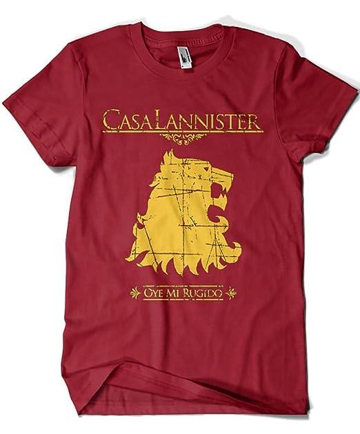Camisetas La Colmena 1503-Camiseta Juego De Tronos Casa Lannister: Amazon.es: Deportes y aire libre
