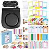 Neewer 56-in-1 Accessory Kit for Fujifilm Instax Mini 70 (Black),Includes: Camera Case with Adjustable Strap, Various Frames, Book Album, Color Filters, Corner Stickers, Photo Instant Film Stickers